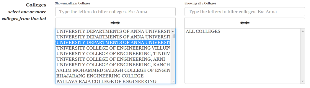 add colleges in TNEAhelp colleges-finder